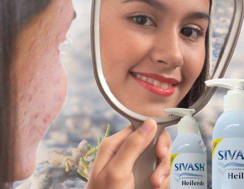 Sivash-Heilerde ist effektiv gegen Akne, Pickel und unreine Haut