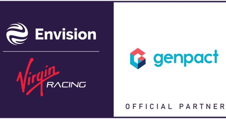 Genpact und Envision Virgin Racing Formel-E-Team kooperieren, um Rennleistung zu verbessern und nachhaltige E-Mobilitätsinnovationen voranzutreiben