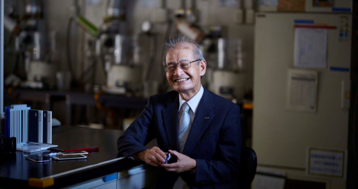 Asahi Kasei Honorary Fellow Dr. Akira Yoshino Nominated as a Finalist for the European Inventor Award 2019