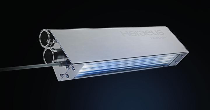 Neue UV-Einheit von Heraeus Noblelight für die Entkeimung von Lebensmittelverpackungen