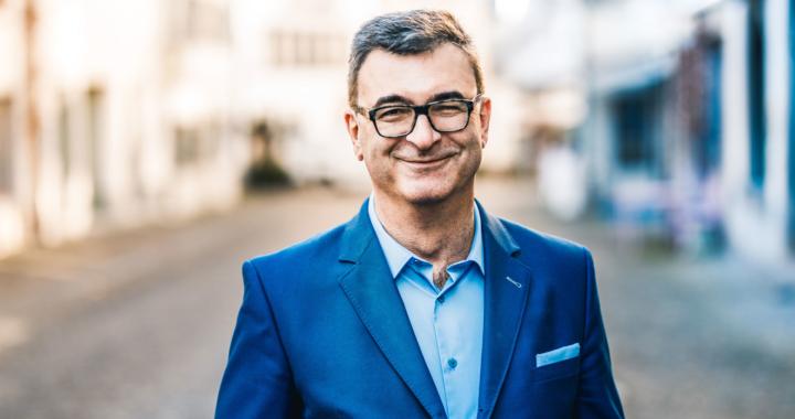 Dieter Menyhart im Interview mit Nils Hafner