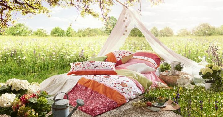 Blumenwiese – sommerlicher Einrichtungstrend bei erwinmueller.de