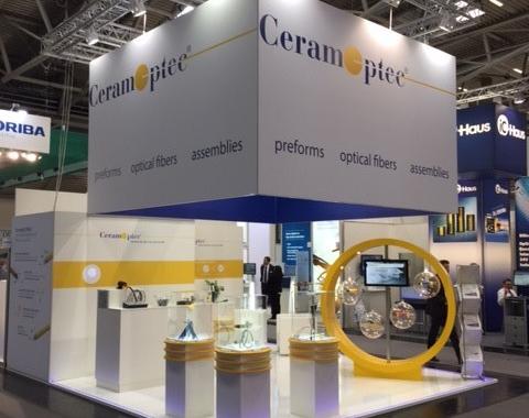 Laser World of Photonics 2019: CeramOptec zeigt leistungsstarke Faseroptiken für industrielle und medizinische Laserapplikationen