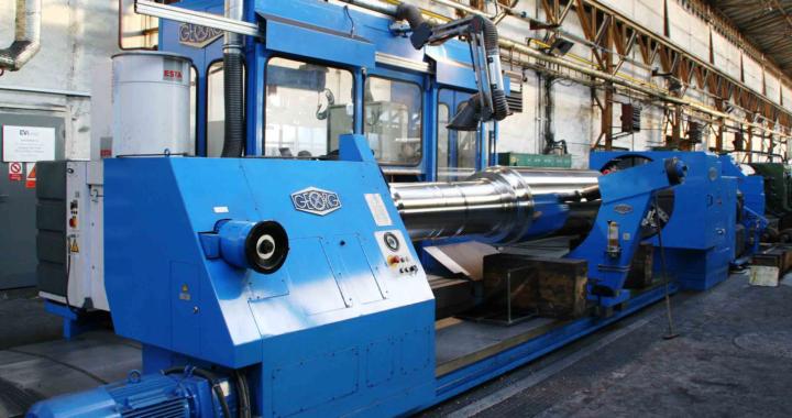 Heinrich Georg Maschinenfabrik: Zwei Maschinen, ein Bediener