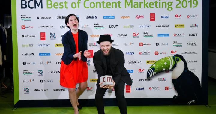 TURN ON! Content Fleet holt Gold bei den BCM-Awards