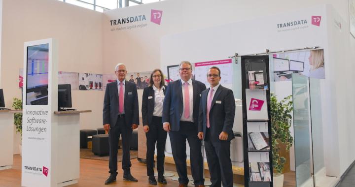 TRANSDATA auf der transport logistic 2019: Vernetzte Lösungen für die digitalisierte Logistik