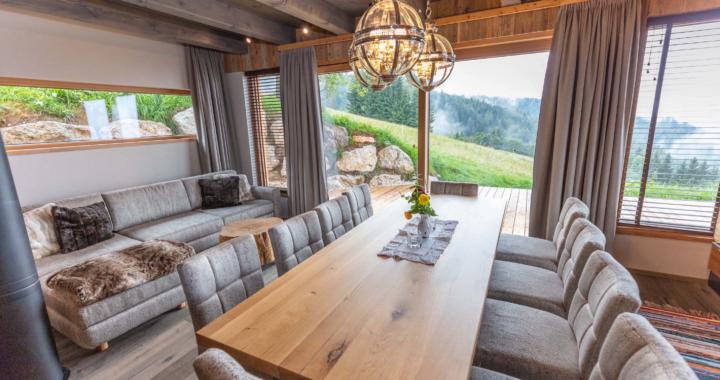 Der Traum vom Urlaub in Hütten und Chalets