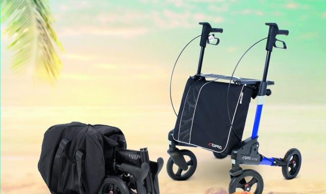 Senioren reisen immer mehr – Reiserollator TOPRO Odyssé bietet sichere Unterstützung bei Mobilitätseinschränkungen