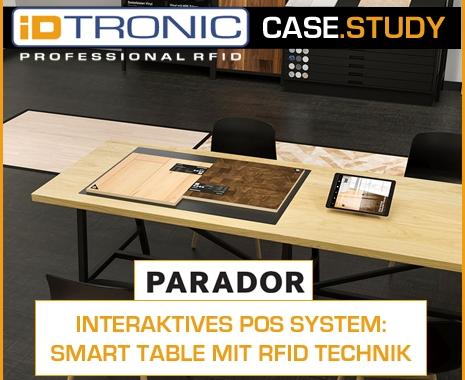 Case Study: INTERAKTIVES POS SYSTEM – SMART TABLE MIT RFID TECHNIK