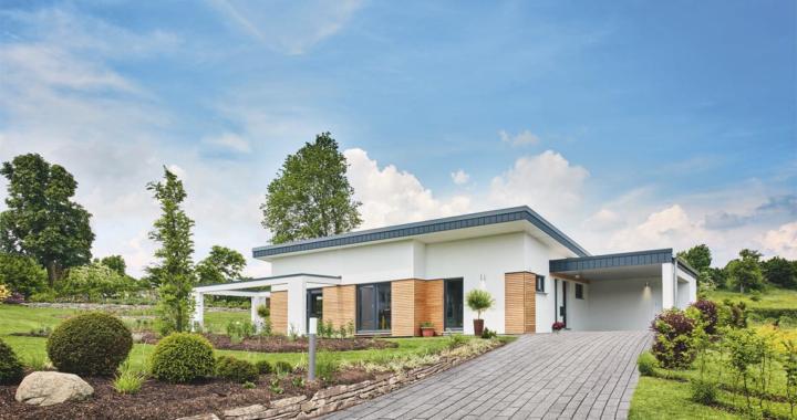 """""""Deutscher Traumhauspreis 2019"""": Fingerhut Haus erreicht mit Bungalow """"Nivelo"""" Silber"""