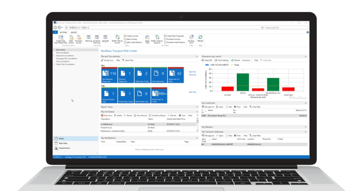 transport logistic 2019 (Halle A3, Stand 119): NaviTrans-Gruppe setzt auf Microsoft Dynamics 365 Business Central
