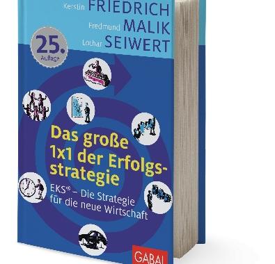 """Jubiläum für GABAL-Bestseller: """"Das große 1×1 der Erfolgsstrategie"""" jetzt in der 25. Auflage"""