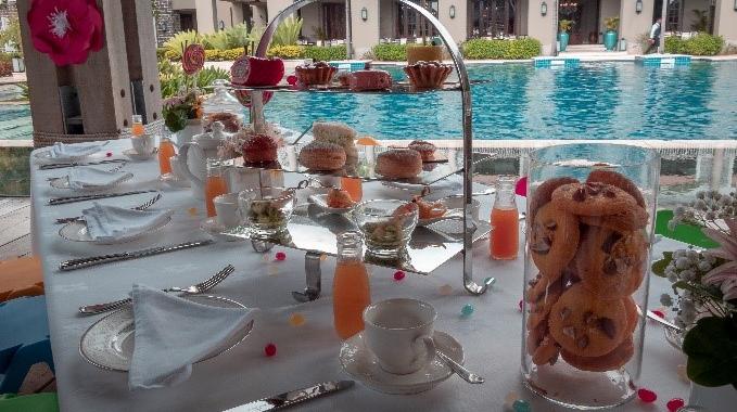 """Exquisiter """"Tiny Tea"""" im The St. Regis Mauritius Resort"""