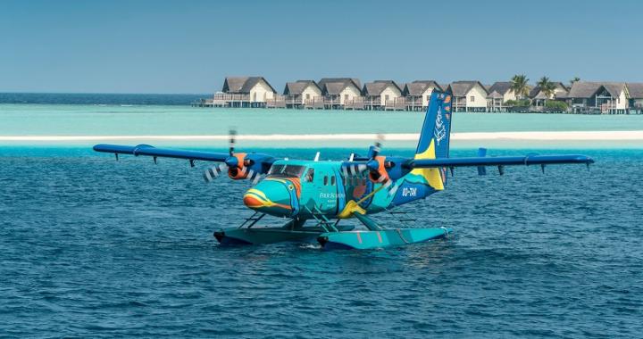 Four Seasons Resort Maldives at Landaa Giraavaru geht mit eigenem Wasserflugzeug in die Luft
