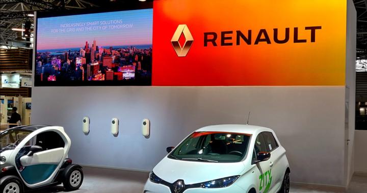 NewMotion ist offizieller Ladepartner der Groupe Renault