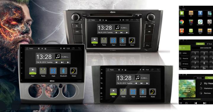 RADICAL – neue Infotainer auf Android-Basis