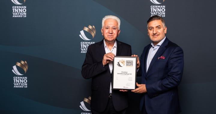 """Ausgezeichnet: Parodont-Gel von Beovita erhält """"German Innovation Award 2019"""""""