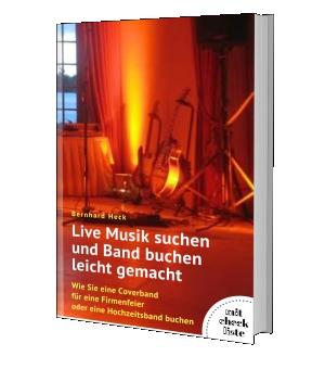 """""""Live Musik suchen und Band buchen leicht gemacht"""""""