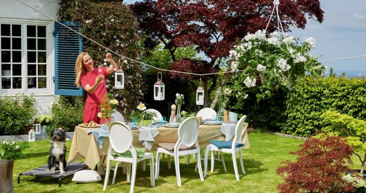 So wird die Gartenparty zum Event