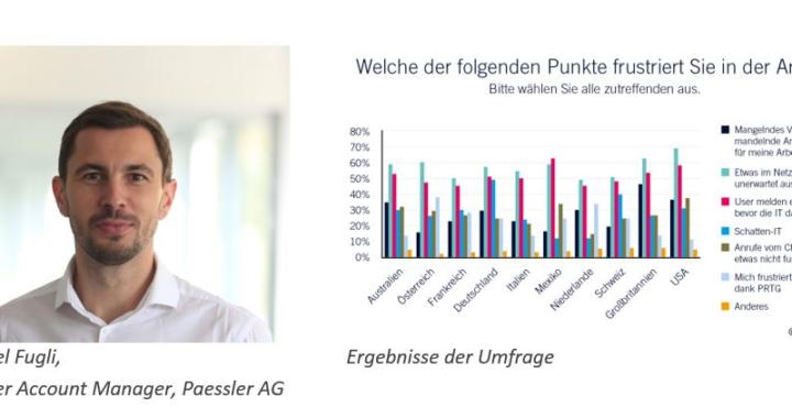 Paessler-Umfrage offenbart Herausforderungen deutscher IT-Abteilungen