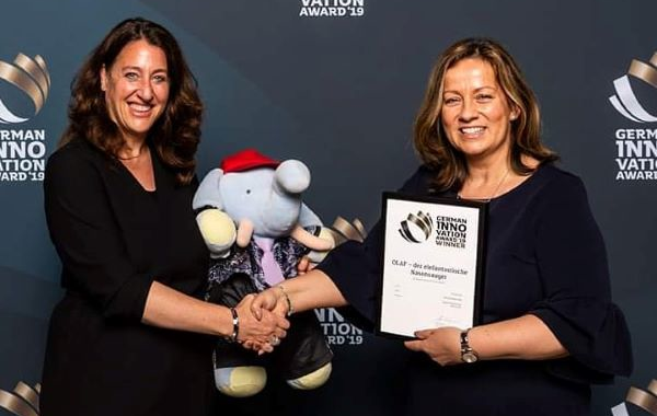 GERMAN INNOVATION AWARD 2019 für Binder Marketing
