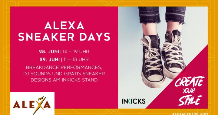 ALEXA präsentiert ersten ALEXA Schuh bei den Sneaker Days