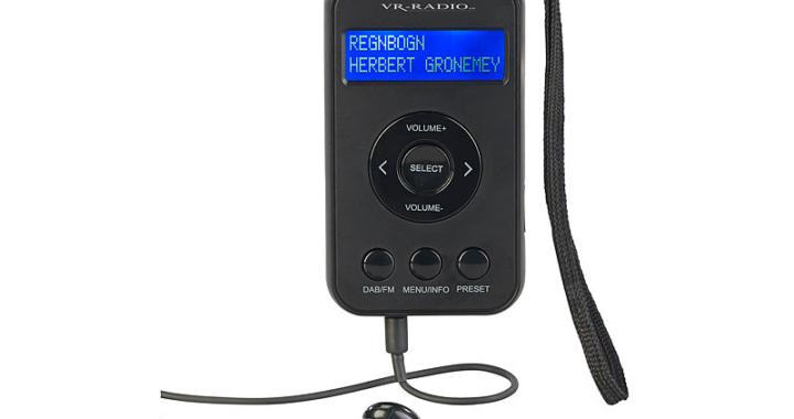 VR-Radio Digitales Taschenradio DOR-265.mini
