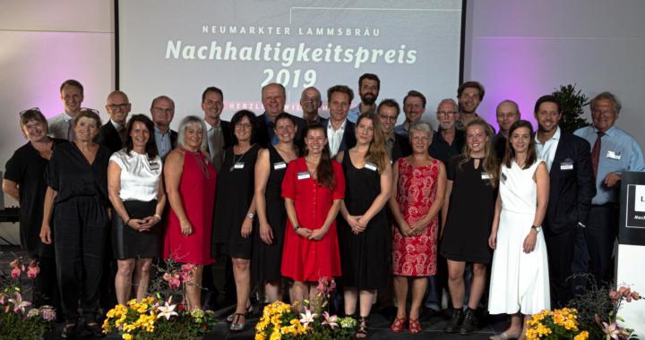 18. Lammsbräu-Nachhaltigkeitspreis verliehen