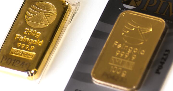 Obschon starker Preisschwankung, Gold ist sicher