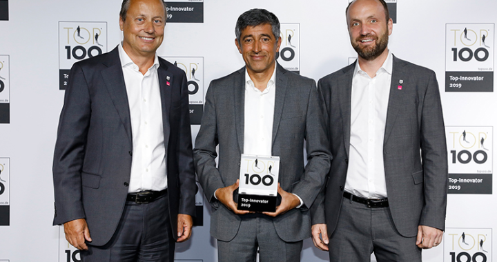 """Innovation: """"Top 100""""-Siegel für medi"""