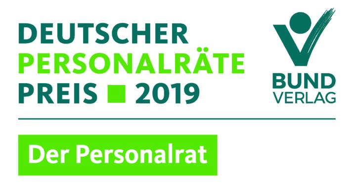 Nominiert für den Deutschen Personalräte-Preis 2019