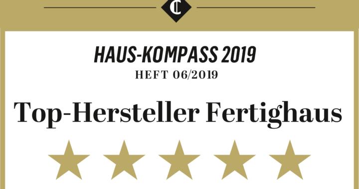 """Fingerhut Haus ist Top-Hersteller: Fünf Sterne gemäß """"Capital Haus-Kompass"""""""