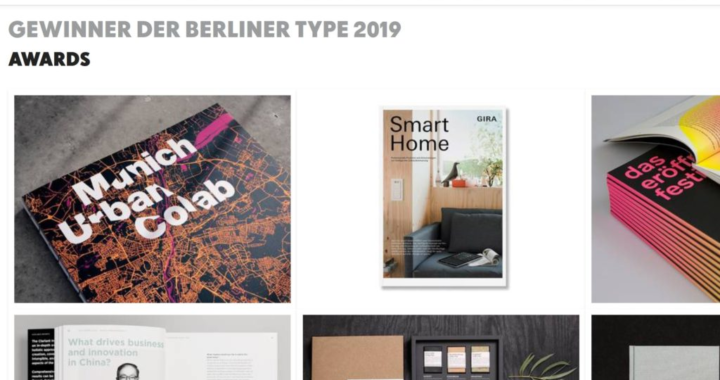 27 Auszeichnungen bei der Berliner Type 2019