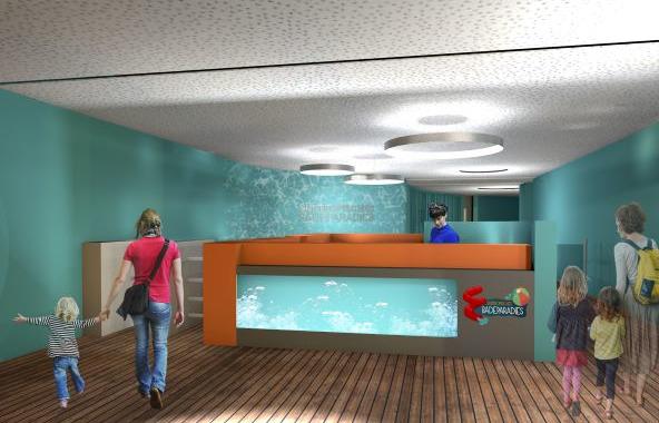 Erweitertes Subtropisches Badeparadies mit Wellenbad eröffnet