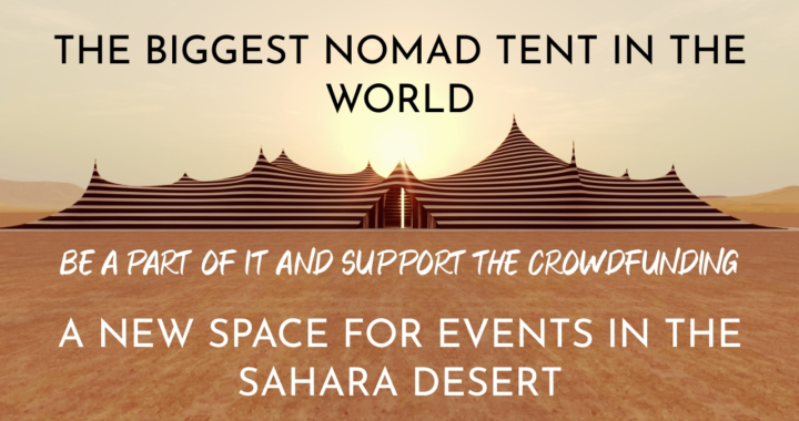 Crowdfunding for the biggest nomad tent in the world