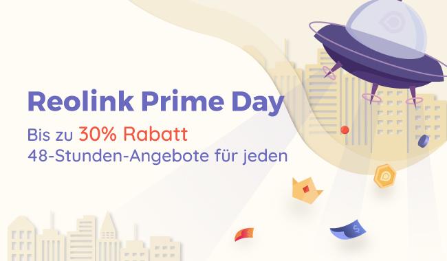 Reolink Prime-Day-Deal mit bis zu 30% Super-Rabatt