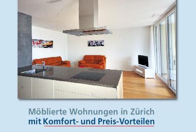 Möblierte Wohnung von PABS motiviert neue Mitarbeitende bei Relocation nach Zürich