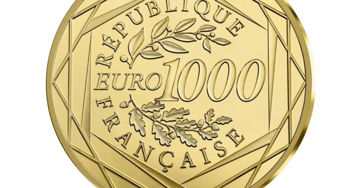 Gold zum Nennwert – offizielle 1000 Euro Goldmünze