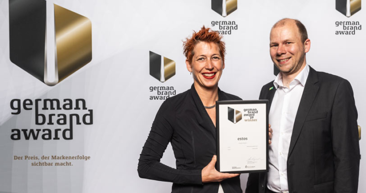 "German Brand Award 2019: estos ist Winner in ""Excellent Brands"""