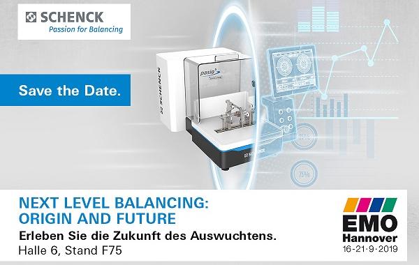 Schenck RoTec auf der EMO 2019: Auf technische Exzellenz folgt digitale Kompetenz