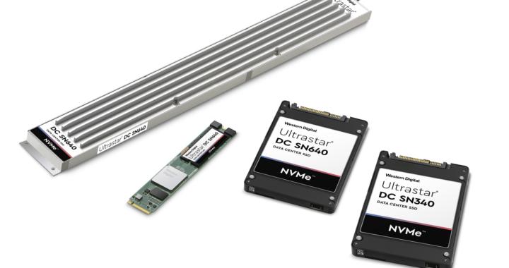 Western Digital führt zwei neue Reihen von NVMe™-SSDs für moderne Rechenzentrum-Workloads ein