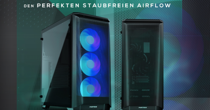 Ab sofort bei Caseking – Der PHANTEKS Eclipse P400 Air Midi-Tower mit optimiertem Airflow