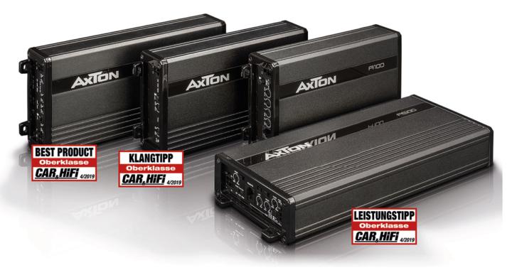 Winzig, stark, günstig  – die Verstärker der AXTON A-Serie