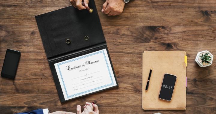 Rechtliche Fragen zur Hochzeit
