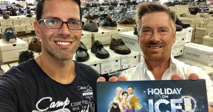 "Schuhplus verlost 5 x 2 Freikarten für Holiday on Ice ""SHOWTIME"" in Essen"