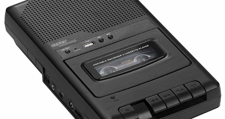 auvisio Mobiler Kassettenspieler und USB-Digitalisierer