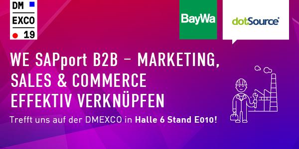 dotSource und BayWa präsentieren SAP-Showcase zur DMEXCO