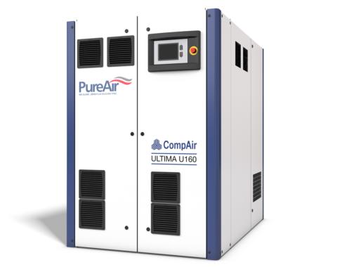 Der Ultima-Kompressor von CompAir ist im Bereich der ölfreien Technologie weiterhin wegweisend