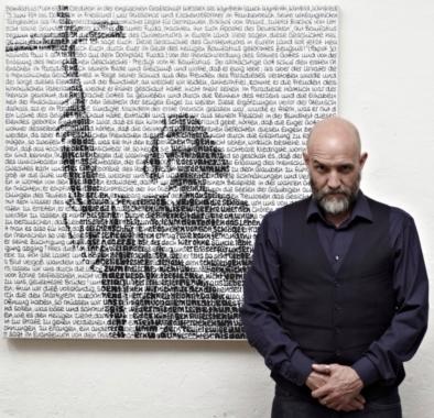 Ausstellung SAXA | HEILIGER BONIFATIUS | EINE WORTMALEREI