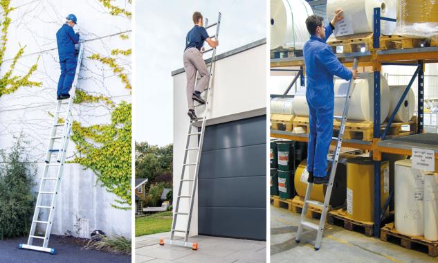 Anlegeleitern – schneller und sicherer Aufstieg zu höher gelegenen Arbeitsplätzen